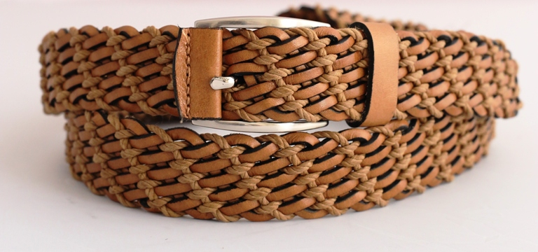 braided belt manufacturers handmade