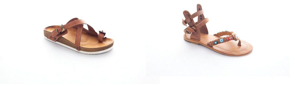 özgün kemer sandalet el yapımı